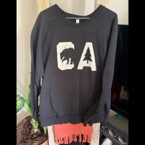 CA sweatshirt